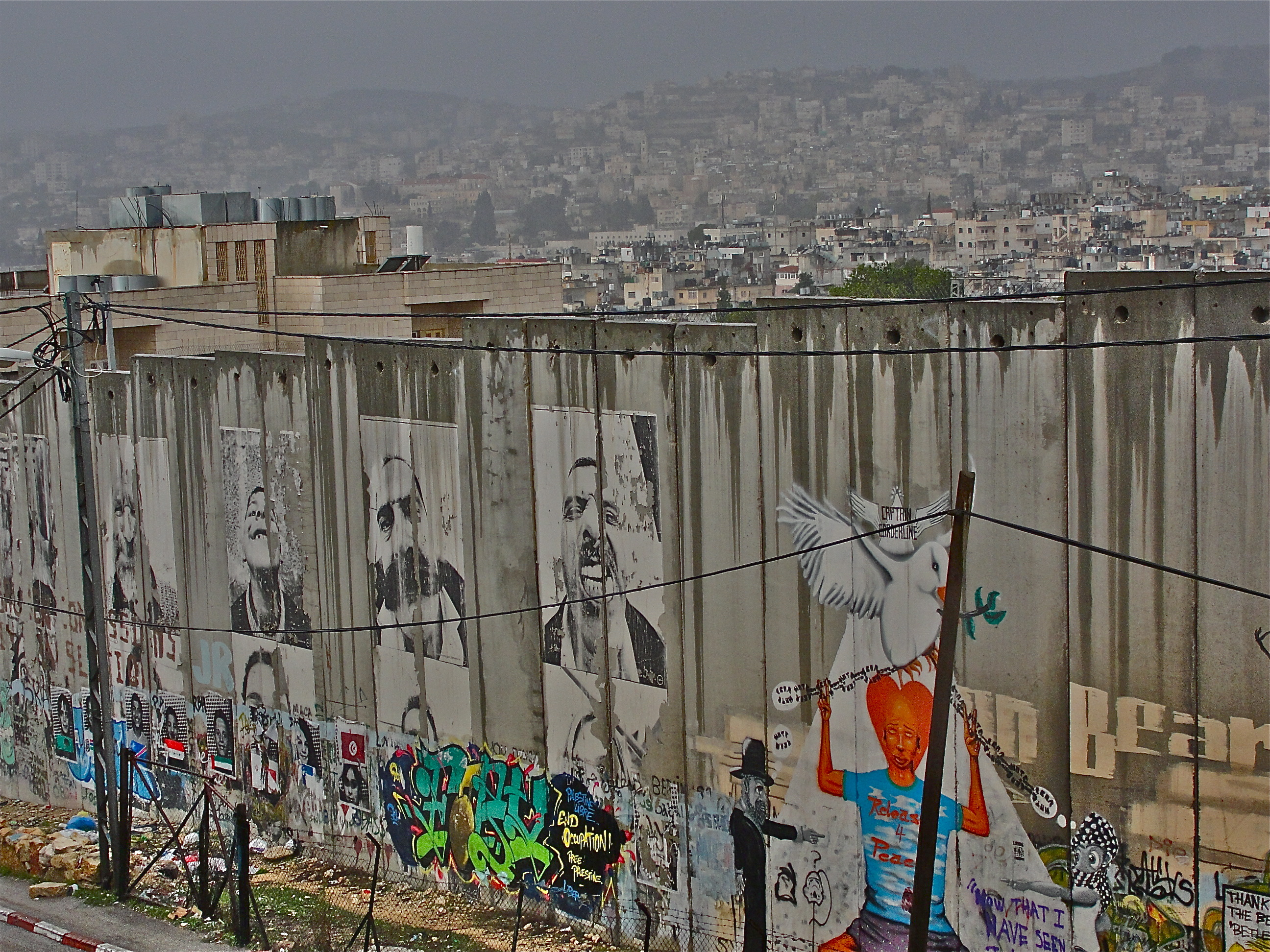 Israelische Mauer